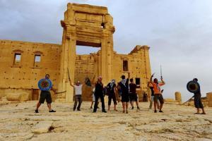 Atac in Palmyra
