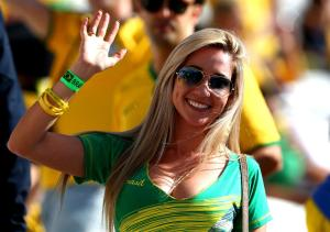 during the Opening Ceremony of the 2014 FIFA World Cup Brazil prior to the Group A match between Brazil and Croatia at Arena de Sao Paulo on June 12, 2014 in Sao Paulo, Brazil.