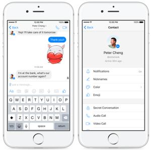 Facebook porneste testarea conversatiilor criptate
