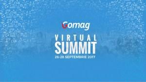 Peste 5000 de oameni sunt asteptati la Gomag Virtual Summit