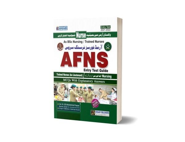 Armed Force Nursing Service AFNS Guide By Dogar Publishers-2021-2022