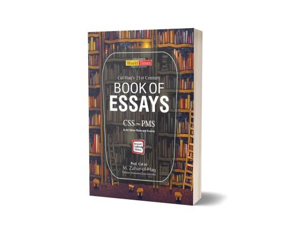 Book of Essays By Col M. Zahur-ul-Haq JWT