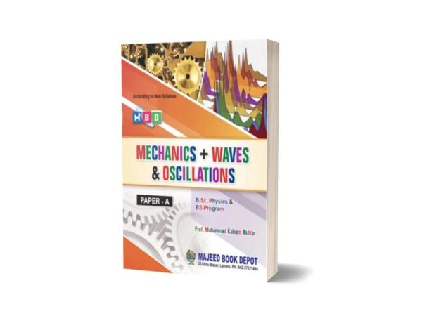 Mechanics + Waves & Oscillations Paper A By Majeed Book Depot