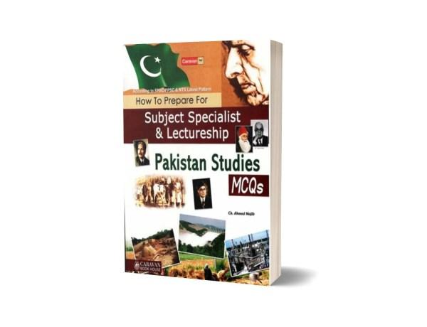 Lectureship & Subject Specialist Pakistan Studies By Ch. Ahmad Najib