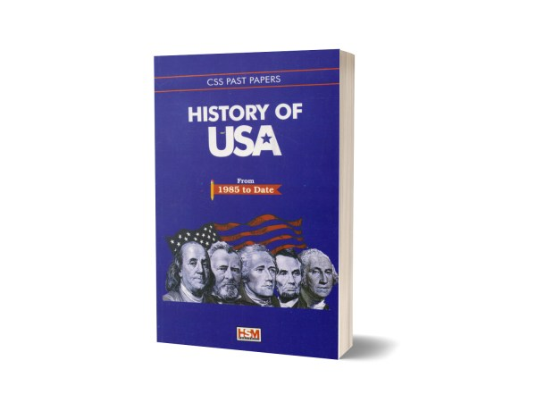 History Of USA CSS Past Papers By HSM Publishers