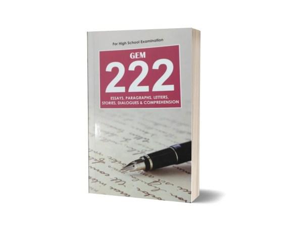 Gem 222 Essays For High School Examination