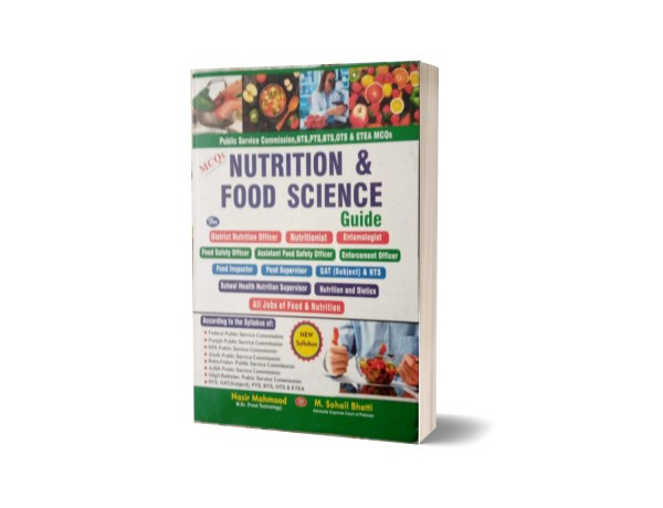 MCQs Nutrition & Food Science Guide GAT.NTS By Muhammad Sohail Bhatti