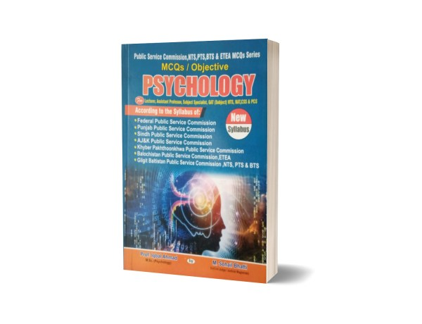 MCQs Objective Psychology For GAT.NTS By Muhammad Sohail Bhatti