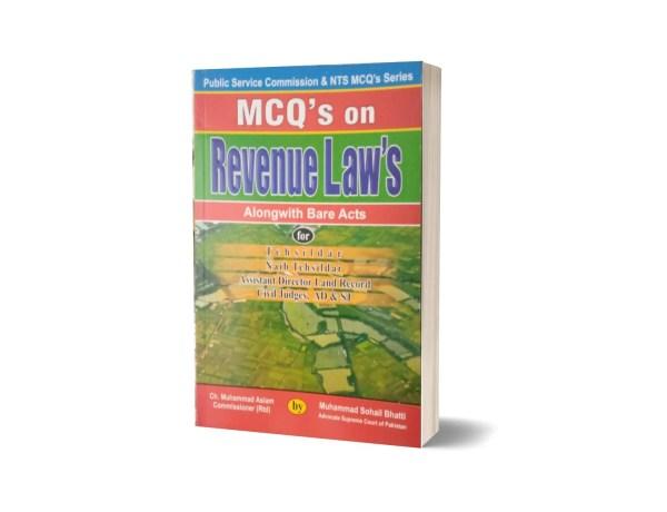 MCQs On Revenue Laws For Civil Judges AD & SJ By Muhammad Sohail Bhatti