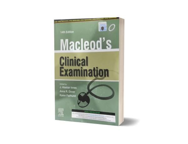Macleods Clinical Examination By J. Alastair Lnnes
