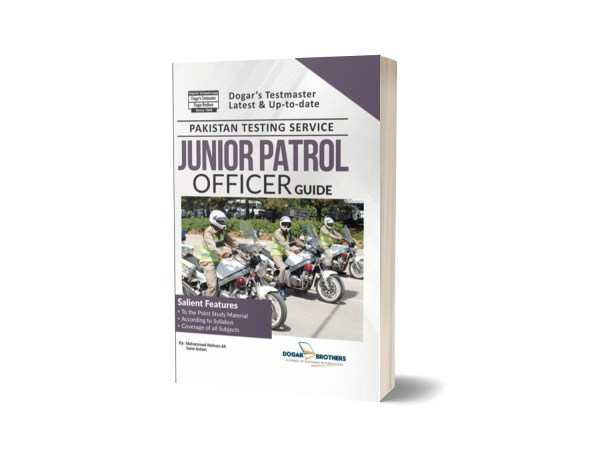 PTS Junior Patrol Officer Guide 2019 By Dogar Brothers
