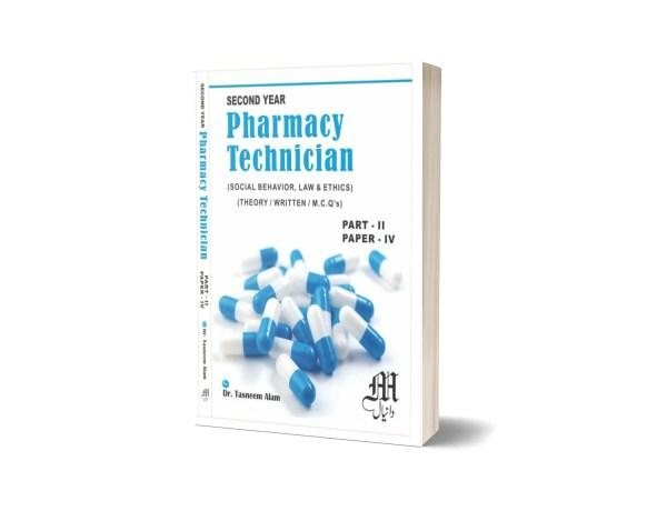 Pharmacy Technician part -II-PAPER-4 By Dr. Tasneem Alam