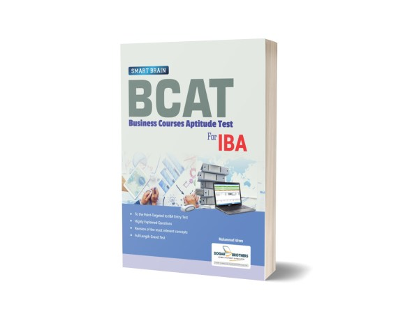 Smart Brain BCAT for IBA Test Guide By Dogar Brothers
