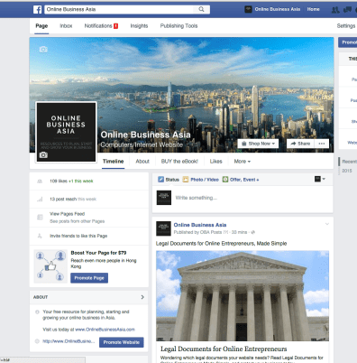 Online Business Asia on Facebook