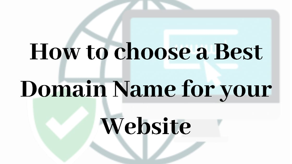 Choose a Best Domain Name