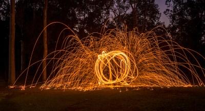 Firewheel by Student Gary Nichols