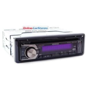 Kenwood Excelon KDCX395 (KDCX395) Enabled Excelon Series CDMP3 AMFM Receiver with