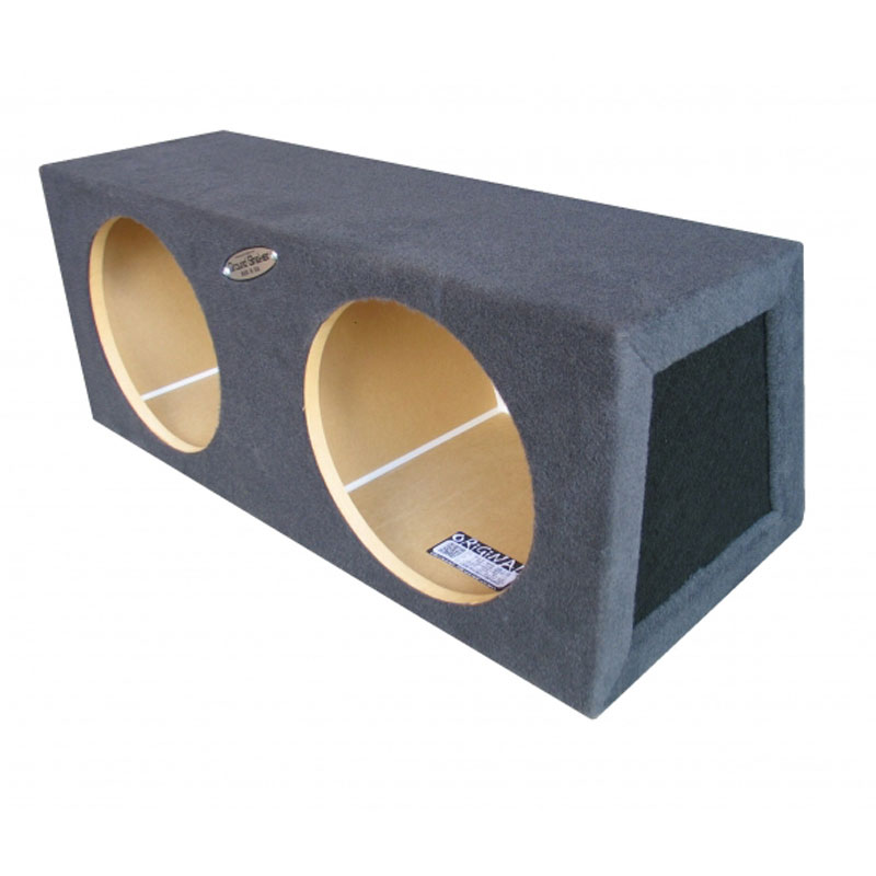 Ground Shaker HB 2 8G 8 Inch Dual Sealed Subwoofer Box At