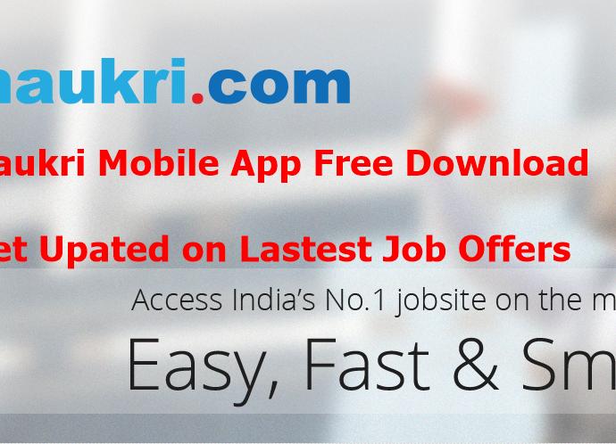 naukri mobile app