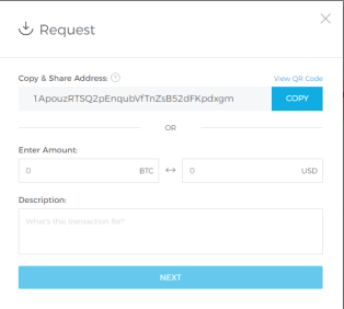 Blockchain account