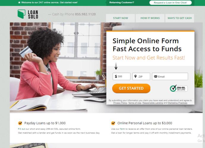 Get Fast Loan on LoanSolo | LoanSolo Online Lending