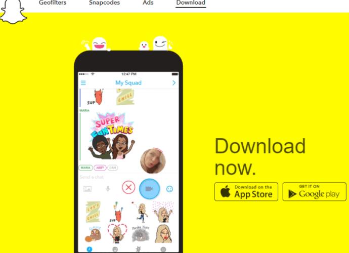 snapchat download