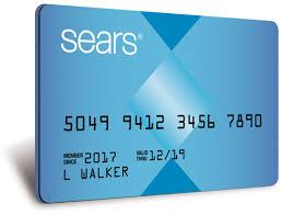 sear credit card