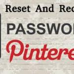 How To Recover Pinterest Password @ www.pinterest.com
