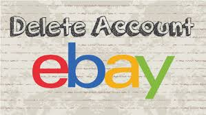 eBay account deletion