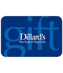Dillards credit card