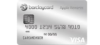 Apple reward card