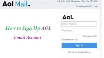 Aol mail sign up
