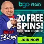 BGO Vegas Casino Free Spins