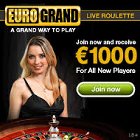 Eurogrand Casino Welcome Bonus