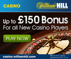william hill online casino bonus