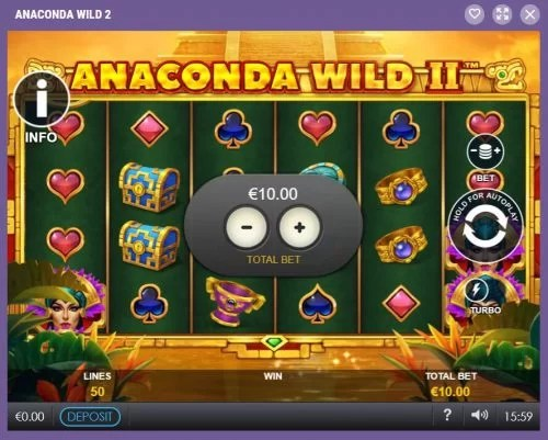 Cookie Casino Nieuwe Slot Anaconda Wild 2