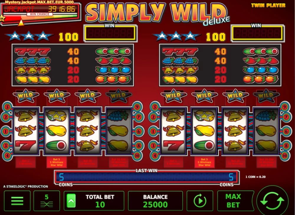 Simply Wild Deluxe Gameplay Twinplayer Modus