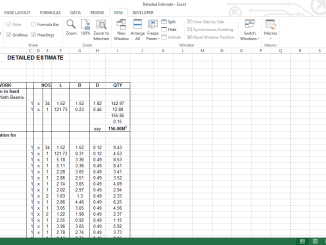 Excel Sheet Archives - Page 7 of 8 - Online CivilForum