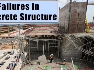 Failures in Concrete Structure