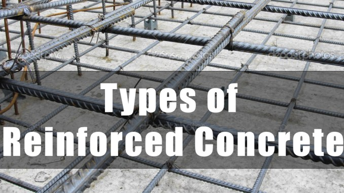 Types of Reinforced Concrete