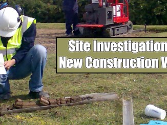 Site Investigation of New Construction Work