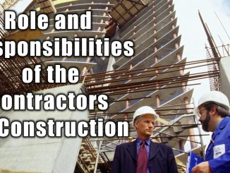 Role and Responsibilities of the Contractors in Construction