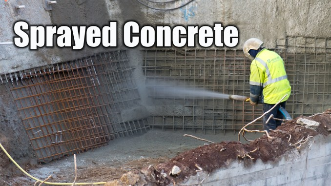 Sprayed Concrete Admixtures and the Process