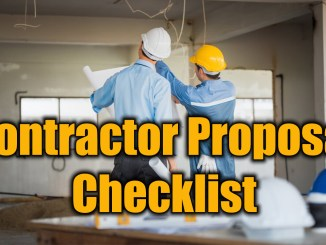 Contractor Proposal Checklist