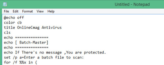 Easy Way To Make Your Own Antivirus :