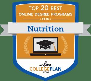 Top 20 Online Nutrition Degree Programs