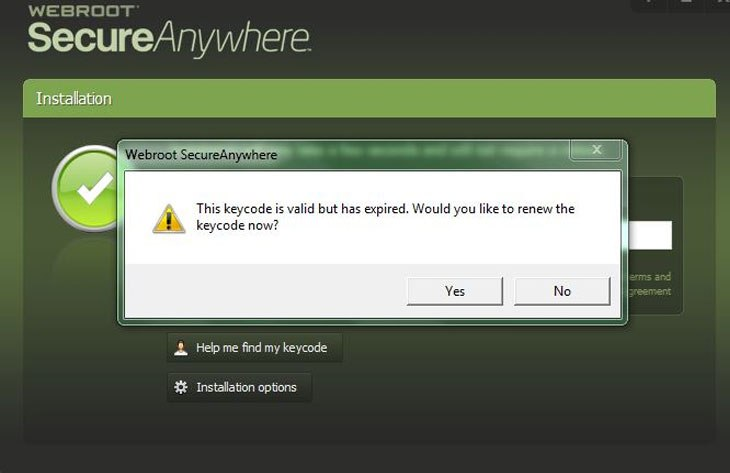 webroot-secureanywhere-keycode-not-working