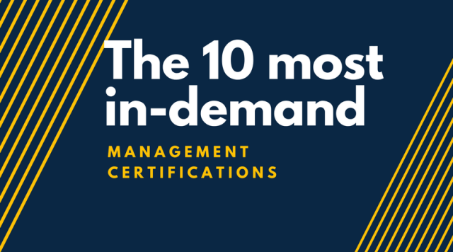 The 10 Most In-Demand Management Certificates   Online Course Report