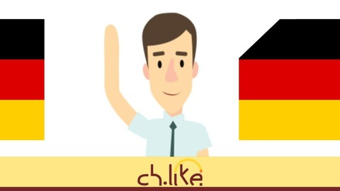 Graphical German language course for beginners (A1)