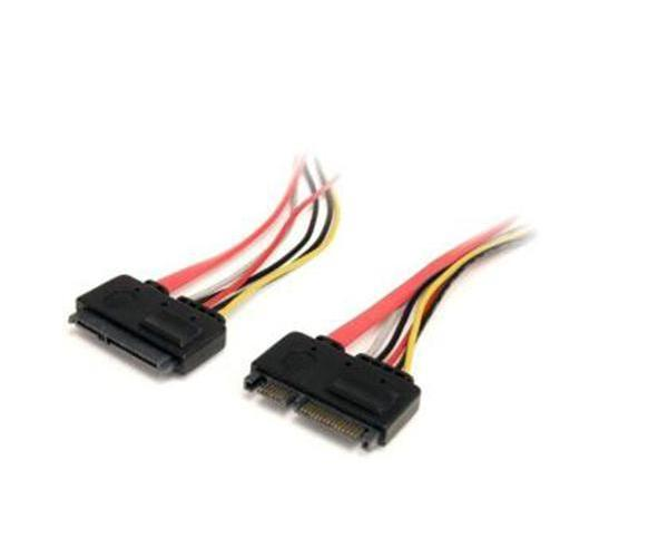 Startech 12In 22 Pin Sata Power Data Ext Cable